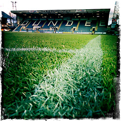 Dundee FC home ground.<br /> Picture taken with the Hipstamatic iPhone photo app.