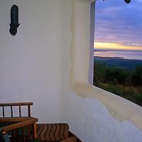 Africa, Tanzania, Lake Manyara Serena Lodge. View.