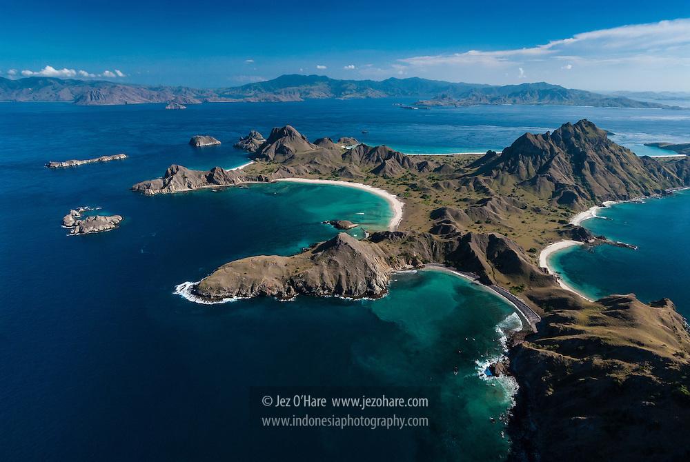 Padar & Komodo Islands, Komodo National Park, Flores, Nusa Tenggara Timur, Indonesia.