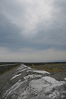 Stormy weather on Inis Oirr the Aran Islands Galway Ireland