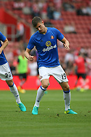Football - 2016 / 2017 Premier League - Southampton vs. Sunderland<br /> <br /> Paddy McNair of Sunderland before kick off at St Mary's Stadium Southampton <br /> <br /> Colorsport/Shaun Boggust