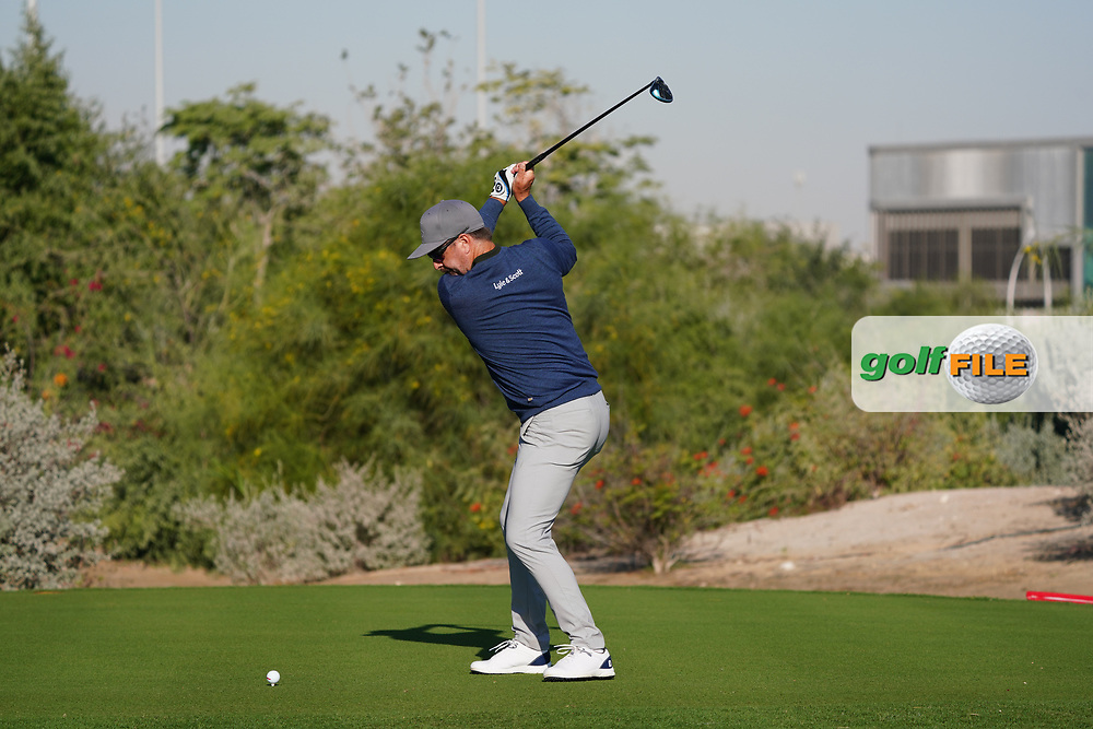 Mikko Korhonen (FIN) on the 2nd during the Pro-Am of the Commercial Bank Qatar Masters 2020 at the Education City Golf Club, Doha, Qatar . 04/03/2020<br /> Picture: Golffile | Thos Caffrey<br /> <br /> <br /> All photo usage must carry mandatory copyright credit (© Golffile | Thos Caffrey)