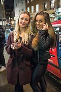 LILY GATEHOUSE; ANNA OLSZEWSKI-LEWIS; , Casio Tokyo Trio Watch  launch party  hosted by My Flash Trash. The Study, 10a Blandford Street, London. 28 January 2013