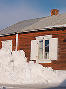 Norrbotten, Swedish village, Lapland.