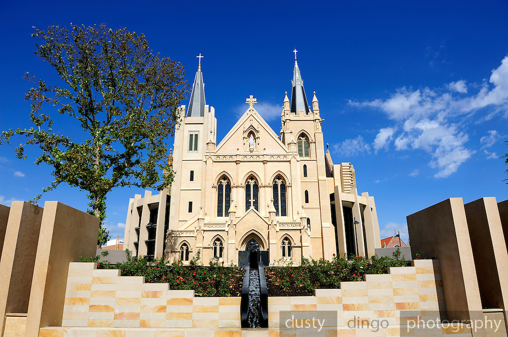 St Mary's Cathedral (officially the Cathedral of the Immaculate Conception of the Blessed Virgin Mary), Perth, Western Australian