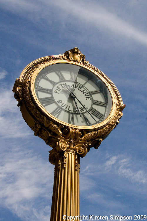 Fifth Avenue Building Clock