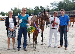 018 - Imagine H<br /> Finale springveulens<br /> KWPN Paardendagen Ermelo 2013<br /> © Dirk Caremans