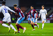 Levi Sutton of Scunthorpe United (22) attacks with the ball during the EFL Sky Bet League 1 match between Scunthorpe United and Coventry City at Glanford Park, Scunthorpe, England on 5 January 2019.