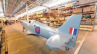 Supermarine Spitfire PR XIX PM651, Royal Air Force Museum Reserve Collection, RAF Stafford, 25 April 2014, Photo by Richard Goldschmidt