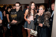 ELIZA DOOLITTLE; BRIX START-SMITH, The Tomodachi ( Friends) Charity Dinner hosted by Chef Nobu Matsuhisa in aid of the Japanese Tsunami Appeal. Nobu Park Lane. London. 4 May 2011. <br /> <br />  , -DO NOT ARCHIVE-© Copyright Photograph by Dafydd Jones. 248 Clapham Rd. London SW9 0PZ. Tel 0207 820 0771. www.dafjones.com.