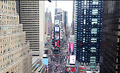 Times Square Prepares For New Year's Eve
