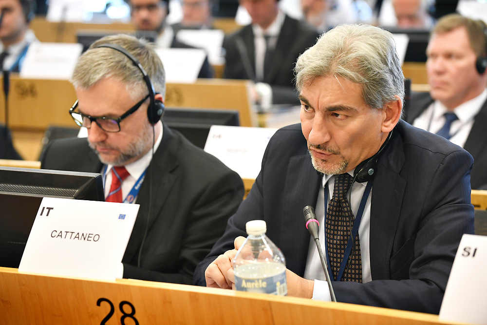 11 May 2017, EPP Group meeting<br /> Belgium - Brussels - May 2017 <br /> CATTANEORaffaele<br /> © European Union / Photographer