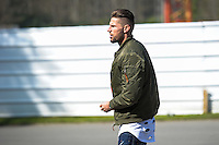 Benoit Costil  - 23.03.2015 -Equipe de France - Arrivee des joueurs a Clairefontaine<br />Photo : Andre Ferreira / Icon Sport