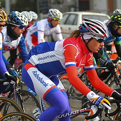 Sportfoto archief 2013<br /> <br /> Omloop Het Nieuwsblad women Annemiek van Vleuten