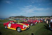 August 14-16, 2012 - Pebble Beach / Monterey Car Week. Ferrari's