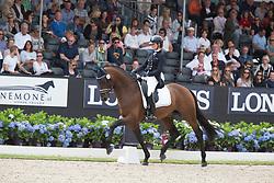 Pauluis Larissa, BEL, Barroso<br /> World Championship Young Dressage Horses <br /> Ermelo 2016<br /> © Hippo Foto - Leanjo De Koster<br /> 29/07/16