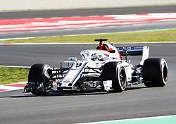 March 6, 2018 - Barcelona, Spain - Testvecka 2, Formel 1, Barcelona ..Marcus Ericsson, Sauber (Credit Image: © JerrevÃ…Ng Stefan/Aftonbladet/IBL via ZUMA Wire)
