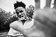 Dejounte Murray photographed in San Antonio Texas for New Balance.(Photo by Johnnie Izquierdo/New Balance)