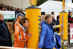 Van Zon Jantien, NED, Hoy Bettina, GER<br /> CCI 3* Boekelo 2017<br /> © Dirk Caremans<br /> 08/10/2017