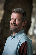 British novelist and critic Adam Mars-Jones, pictured at the Edinburgh International Book Festival where he talked about being one of the 1993 Granta Young British Novelists project. The three-week event is the world's biggest literary festival and is held during the annual Edinburgh Festival. The 2013 event featured talks and presentations by more than 500 authors from around the world and was the 30th edition of the festival.