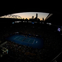 A wide general view of Rod Laver Arena on day four of the 2018 Australian Open in Melbourne Australia on Thursday January 18, 2018.<br /> (Ben Solomon/Tennis Australia)
