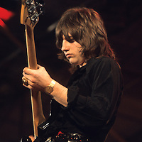 Greg Lake<br /> -<br /> Keith Emerson (two Hammond organs and one £3000 prototype Moog synthesiser), Greg Lake (bass and vocals) and Carl Palmer (drums), made their live debut as E.L.P here, after only one warm-up gig. Their set bravely consisted of firing two unloaded cannons at some point, one of which still managed to blow the glasses off an unlucky spectator.