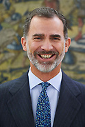 110217 King Felipe VI attends audiences at Zarzuela Palace