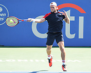 Denis Kudla at the 2021 Citi Open. Photo by Kyle Gustafson