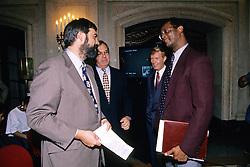Joe Spaulding Jr., Major Menino,<br /> Lester Strong, At Photo By Kids 1994 Graduation