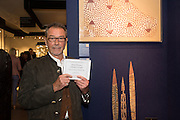 CLIVE LOVELESS, The preview of LAPADA Art and Antiques Fair. Berkeley Sq. London. 21 September 2015.