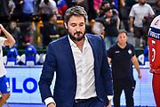 Gianmarco Pozzecco<br /> Banco di Sardegna Dinamo Sassari - Baxi Manresa<br /> FIBA Basketball Champions League BCL 2019-2020<br /> Sassari, 03/12/2019<br /> Foto L.Canu / Ciamillo-Castoria