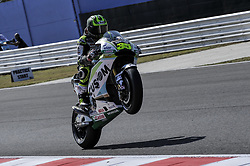 September 8, 2017 - Misano Adriatico, Italy - Cal Crutchlow (LCR Honda)  during free practice for Britsh  MotoGP at Misano World circuit (Credit Image: © Gaetano Piazzolla/Pacific Press via ZUMA Wire)