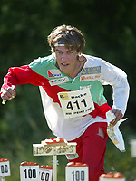 Orientering, 21. juni 2002. NM sprint. Jon Tvedt, Kristiansand.