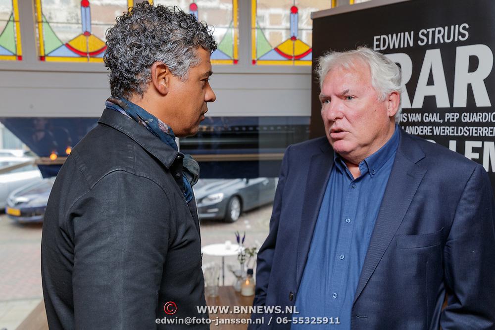 NLD/Amsterdam/20190308 - Boekpresentatie Gerard van der Lem, Gerard en Frank Rijkaard