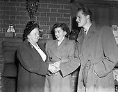 1952 - Jack Fitzgerald, (Waterford F.A.I.) engagement to Miss A. Phillips
