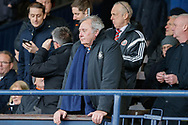 Luton Town Chairman David Wilkinson during the EFL Sky Bet League 1 match between Southend United and Luton Town at Roots Hall, Southend, England on 26 January 2019.