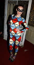 LIZZIE JAGGER at the 2006 Moet & Chandon Fashion Tribute in honour of photographer Nick Knight, held at Strawberry Hill House, Twickenham, Middlesex on 24th October 2006.<br /><br />NON EXCLUSIVE - WORLD RIGHTS