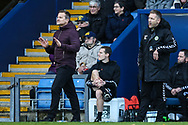 Forest Green Rovers manager, Mark Cooper during the The FA Cup 1st round match between Oxford United and Forest Green Rovers at the Kassam Stadium, Oxford, England on 10 November 2018.