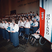 Optreden Holland koor Zenderkerk Huizen