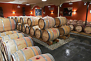 barrel aging cellar clos des quatre vents margaux medoc bordeaux france