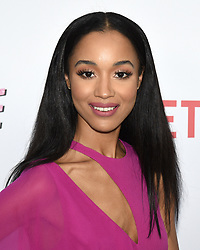 August 9, 2018 - Hollywood, California, USA - ERRIN WESTBROOK attends Netflix's 'Insatiable' Season 1 premiere at ArcLight Hollywood. (Credit Image: © Billy Bennight via ZUMA Wire)