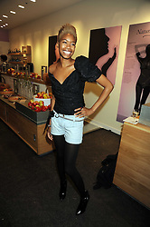 TOLULA ADEYEMI at the Natural Beauty Honours 2008 hosted by Neal's Yard Remedies, 124b King's Road, London SW3 on 4th September 2008.<br /> <br /> NON EXCLUSIVE - WORLD RIGHTS