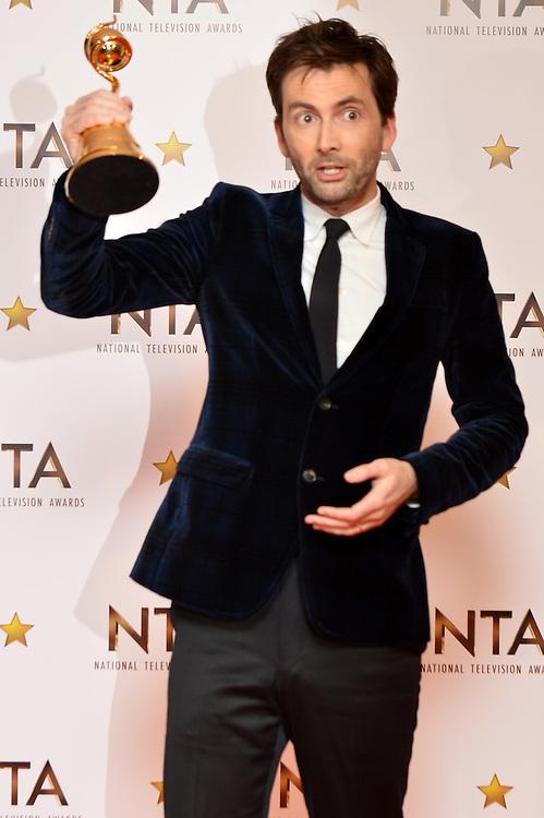 NTA awards  David Tennant  pic Dave Nelson