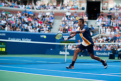 September 1, 2018 - Flushing Meadow, NY, U.S. - FLUSHING MEADOW, NY - SEPTEMBER 01: NICK KYRGIOS (AUS) day six of the 2018 US Open on September 01, 2018, at Billie Jean King National Tennis Center in Flushing Meadow, NY. (Photo by Chaz Niell/Icon Sportswire) (Credit Image: © Chaz Niell/Icon SMI via ZUMA Press)