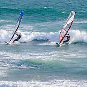 Wind surfing. Malibu, CA. United States