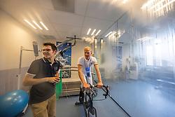Guery Jerôme, BEL, Benoit Nicolas, Expertise et Aide à la Performance Sportive <br /> Inspanningstesten Tokyo Olympics <br /> Université Catholique de Louvain-La-Neuve 2020<br /> © Hippo Foto - Dirk Caremans<br /> 03/03/2020