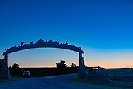 """BOLO Photo<br /> Wild West Automotive Photography<br /> """"Thank You for Visiting""""<br /> Comet Neowise<br /> July 9, 2020<br /> Curt Gowdy State Park, Wyoming"""