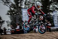 #33 (GEORGE Dani) USA at the 2014 UCI BMX Supercross World Cup in Santiago Del Estero, Argentina.