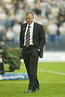 Photo: Aidan Ellis.<br /> Wigan Athletic v Newcastle United. The Barclays Premiership. 15/10/2005.<br /> Its another bad day for Newcastle boss Graeme Souness as his team lose 1-0 to Wigan