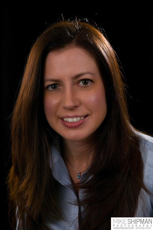 Headshot portrait of author Sadie Van Rae